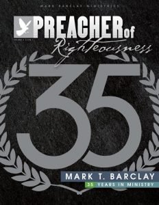 Mark T. Barclay, 35 Years in Ministry