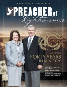 40 Years In Ministry